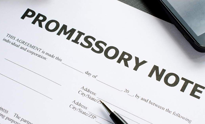 Creditors Rights Promissory Note Option